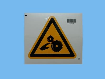 sticker rotating parts 200 mm