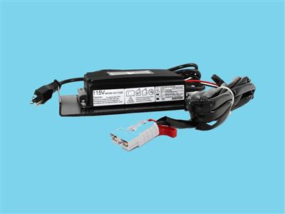high frequent battery charger 115v-50-60hz, 24v-8a + ip65 in