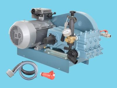HP-pumpset 60ltr/60bar-400V - AB90