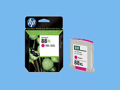 hp c9392ae no.88 xl magenta inktcartridge, c9392a