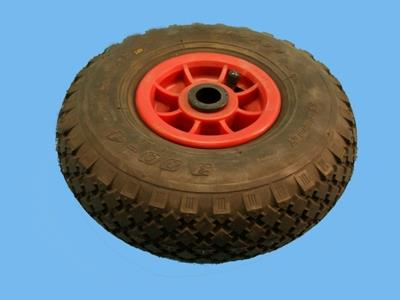 wheel with pneumatic tyres 300