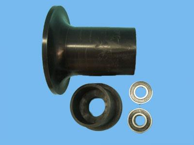 Flange roll 170 mm for Ergon trolley as 20mm