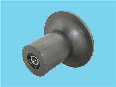 Flange rolls 183mm (for 45 tubes) with bearing