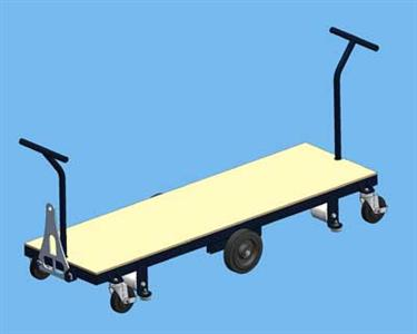 transport trolley 168x48