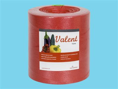 rope valent twine 1/1000 red 6 kg