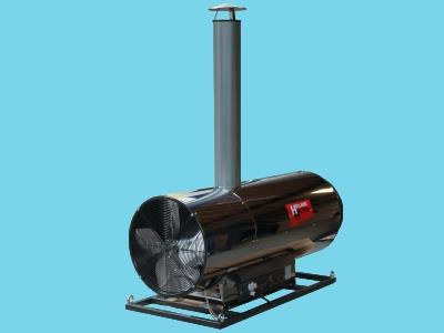 oil fired heater ams 80kw