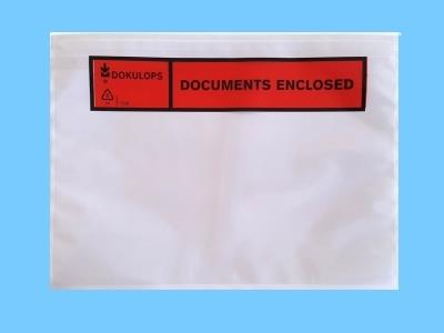 packing list envelope a5 with 'documents enclosed' x1000