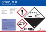 Sticker fertigro KL/50 Bulk barrel