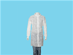 Allwear visitor jacket PP velcro white XL 100pcs