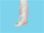 Allwear boot cover PE 70mu roughened white 50st