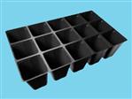 Teku kweekbak PL 3050/15-1 black 105 box