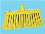 Broom hard Vikan yellow