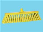 Wide broom hard Vikan yellow