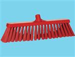 Wide broom hard Vikan red