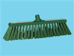 Wide broom hard Vikan green
